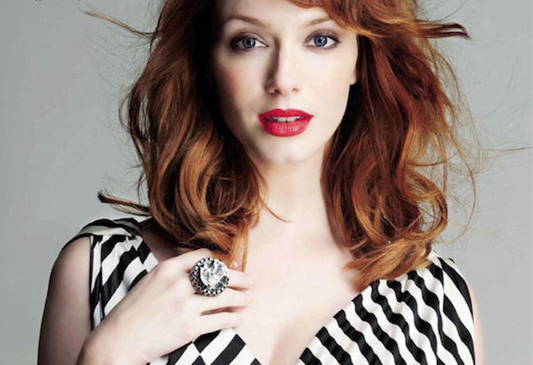 Christina Hendricks Lips